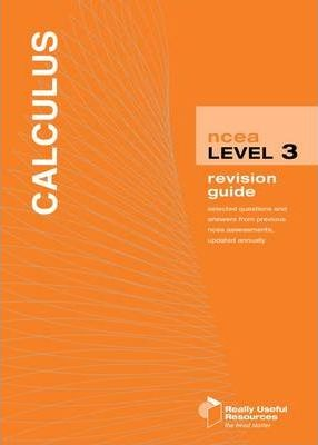 NCEA Level 3 Calculus Revision Guide 2010
