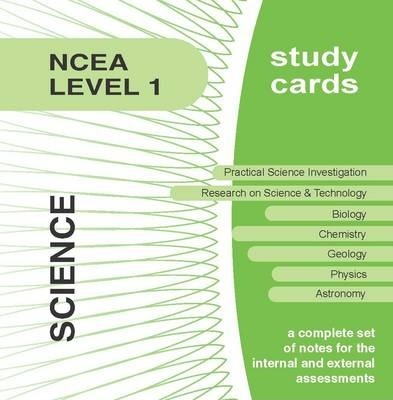 NCEA Level 1 Science Study Cards