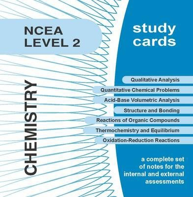 NCEA Level 2 Chemistry Study Cards