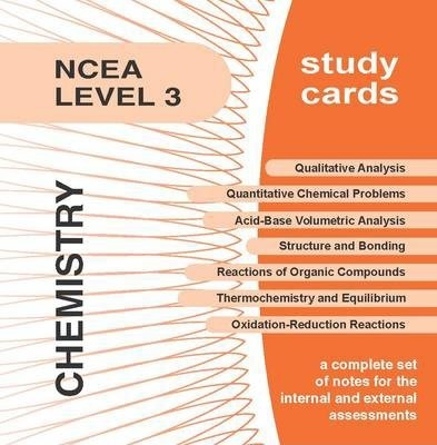 NCEA Level 3 Chemistry Study Cards