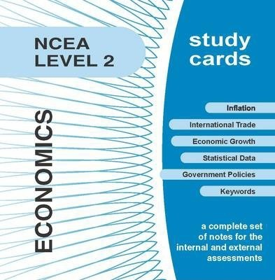 NCEA Level 2 Economics Study Cards
