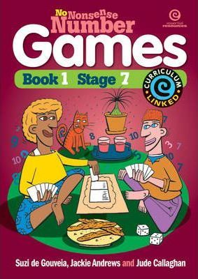 No Nonsense Number Games Bk 1
