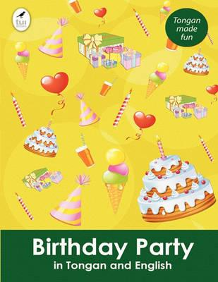 Birthday Party in Tongan and English Cover Image