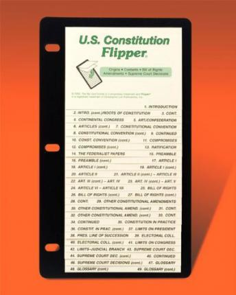US Constitution Flipper Study Guide