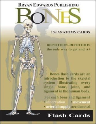 Bones Flash Cards