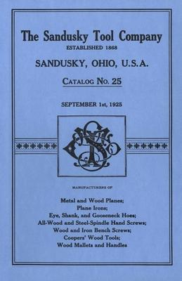 Sandusky Tool Co. 1925 Catalog