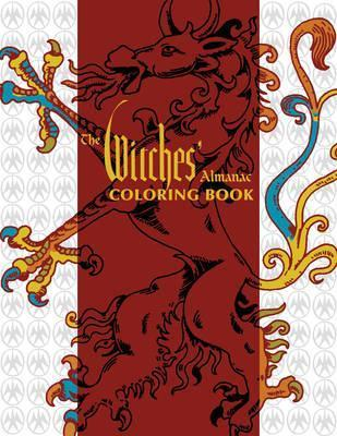 The Witches' Almanac Coloring Book Cover Image