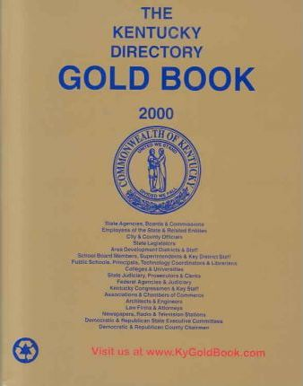 The Kentucky Directory Gold Book 2000