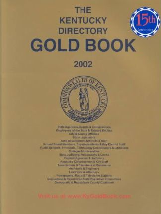 The Kentucky Directory Gold Book 2002