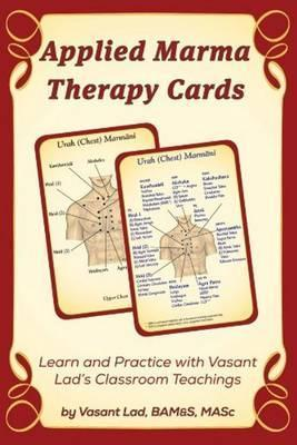 Applied Marma Therapy Cards - Vasant Lad