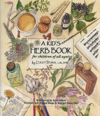 A Kid's Herb Book Cover Image