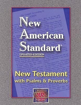 New Testament with Psalms and Proverbs-NASB Cover Image