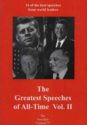 The Greatest Speeches of All Time: No. 2