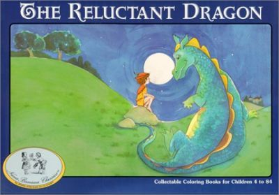 The Reluctant Dragon/Coloring Book