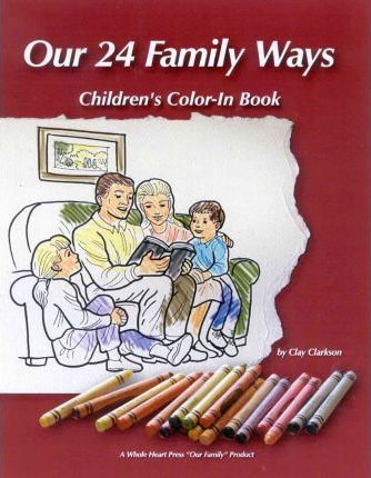 Our 24 Family Ways Kids Color-in-Book