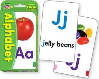 Pocket Flash Cards Alphabet