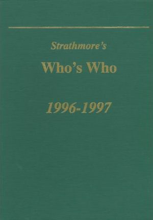 Strathmore's Who's Who 1996-1997