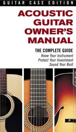 acoustic guitar owner s manual hal leonard publishing corporation rh bookdepository com Acoustic Guitar Clip Art Acoustic Guitar Backgrounds