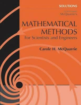 Student solutions manual for mathematical methods for scientists and student solutions manual for mathematical methods for scientists and engineers fandeluxe Choice Image