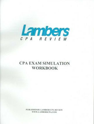 Cpa Exam Simulation Workbook