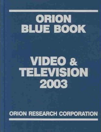 Orion Blue Book Video & Television 2003