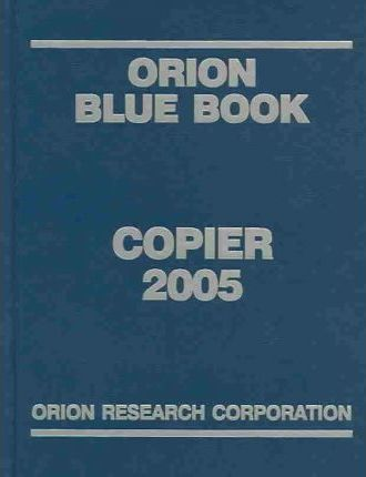 Orion Blue Book Copier 2005