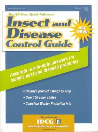 Insect and Disease Control Guide 1999