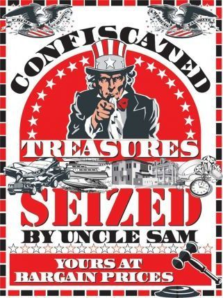 Confiscated Treasures Seized By Uncle Sam