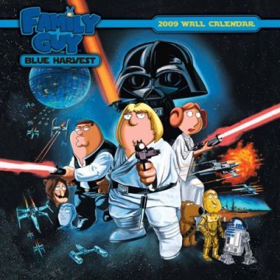 Family Guy Blue Harvest 2009 Calendar