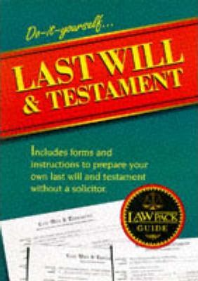 Last Will and Testament Guide