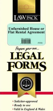 Unfurnished Flat or House Rental Agreement