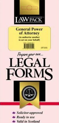 General Power of Attorney (SF220)