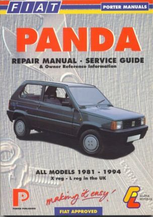 fiat panda repair manual service guide and owner reference rh bookdepository com fiat panda user guide fiat panda build quality
