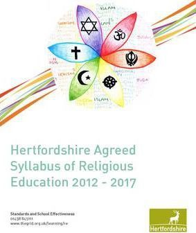 Hertfordshire Agreed Sylabus of Religious Education