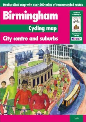 Birmingham Cycling Map