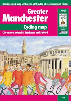 Greater Manchester Cycling Map