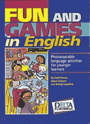 Fun And Games In English Book + CD Cover Image