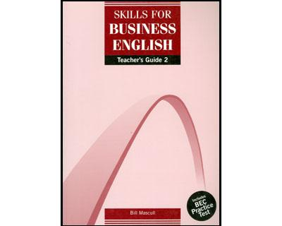DBE: Skills for Business English Teachers Guide 2
