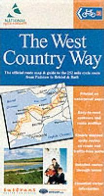 West Country Way Cycle Route Map (Padstow - Bristol/Bath)