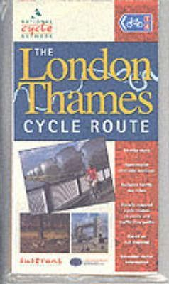The London Thames Cycle Route Map (Hampton Court - Dartford)