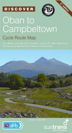 Oban to Campbeltown, Sustrans Cycle Route Map