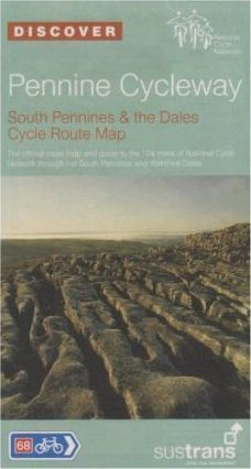 Pennine Cycleway, South Pennines and The Dales Cycle Route Map