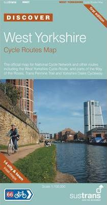 West Yorkshire Cycle Routes Map
