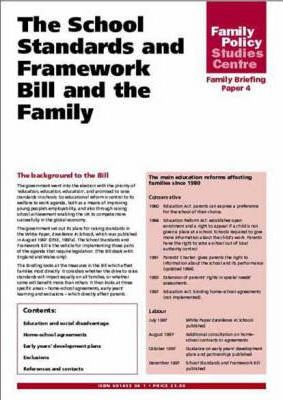 The School Standards and Framework Bill and the Family
