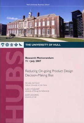 Reducing On-going Product Design Decision-making Bias