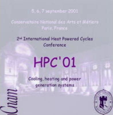 Proceedings of the 2nd International Heat Powered Cycles Conference