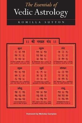 The Essentials of Vedic Astrology Cover Image