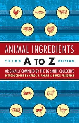 Animal Ingredients A To Z 3ed