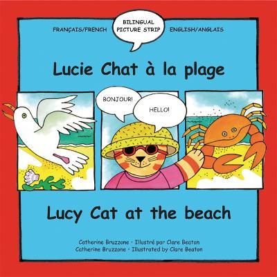 Lucie Chat a la plage/Lucy Cat at the beach
