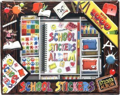 School Sticker Boxes: Large